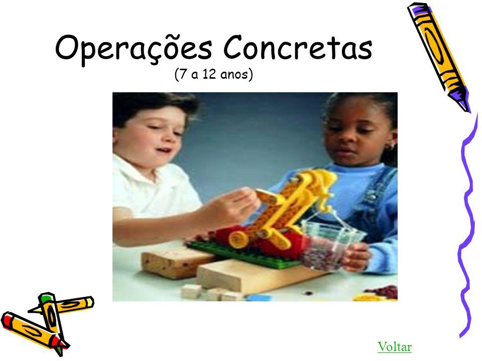 Operações Concretas (7 a 12 anos) Voltar