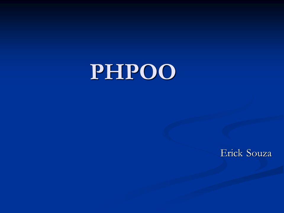 PHPOO Erick Souza