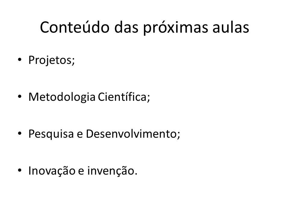 Metodologia Científica Projetos Aula 4