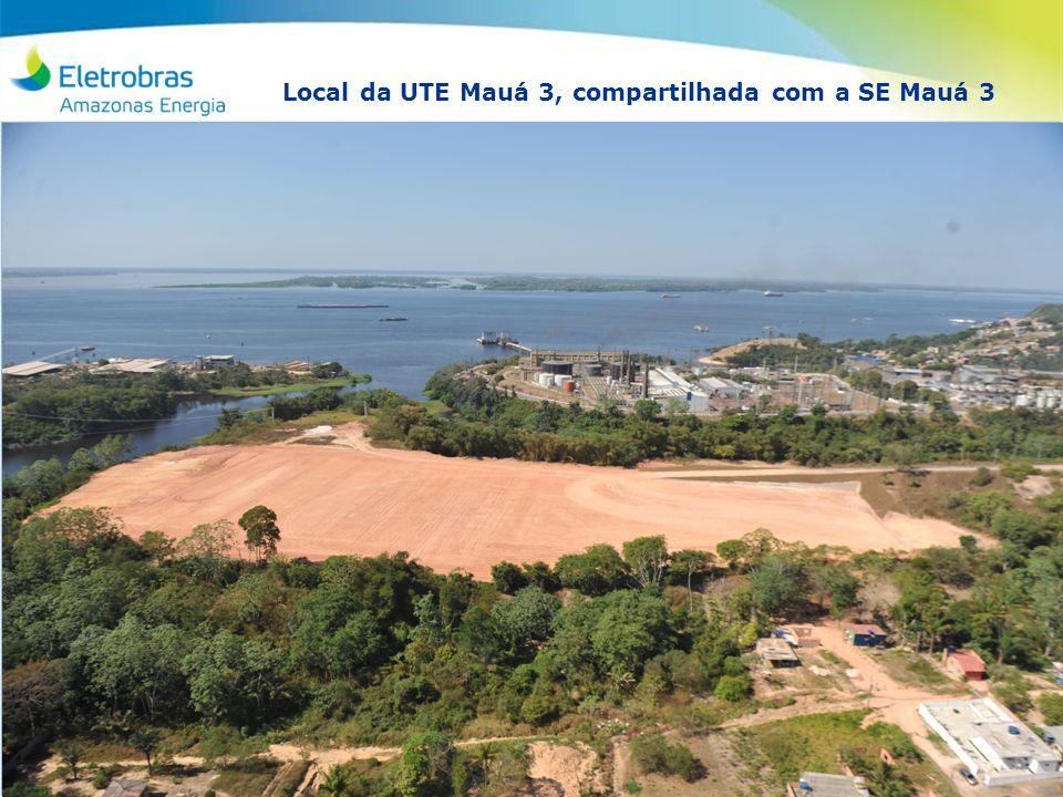 RD SG TQ 2012 Local da UTE Mauá 3, compartilhada com a SE Mauá 3