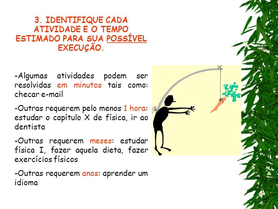 Q U A D R O D E T A R E F A S Data Atividade a Realizar Grau Prioridade Tempo previsto Fones email para contato Executar no Dia Observações 1 2 3 3 4