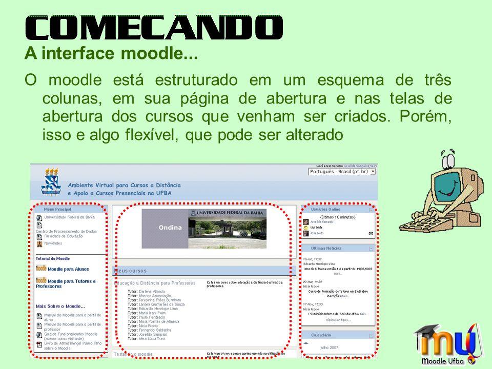 Chats O Chat permite uma comunicação textual em tempo real, entre professores e alunos.