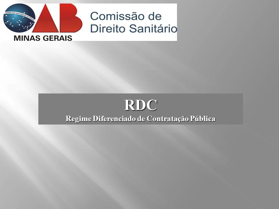 RDC Regime Diferenciado de Contratação Pública