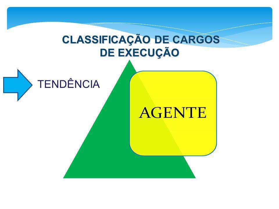 CLASSIFICAÇÃO DE CARGOS DE EXECUÇÃO TENDÊNCIA