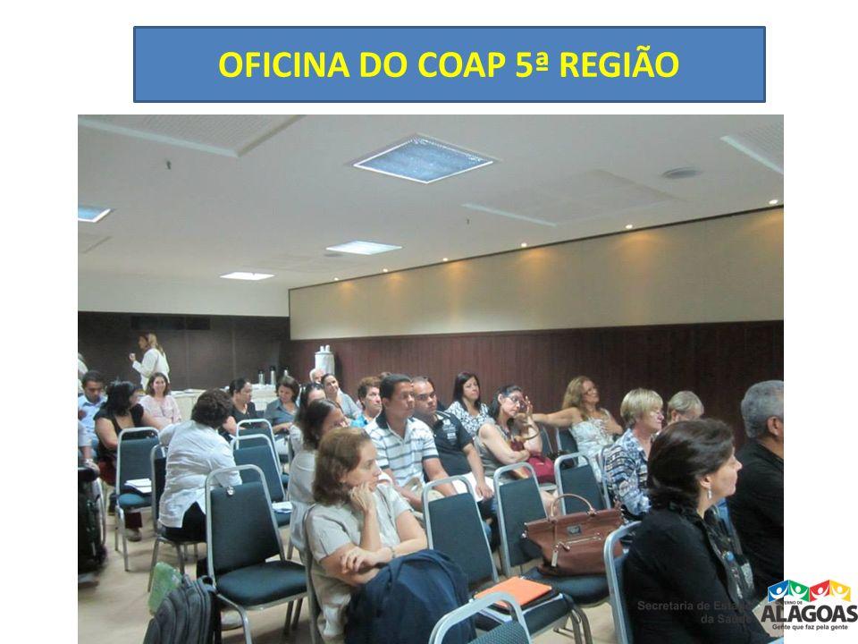 OFICINA DO COAP 5ª REGIÃO