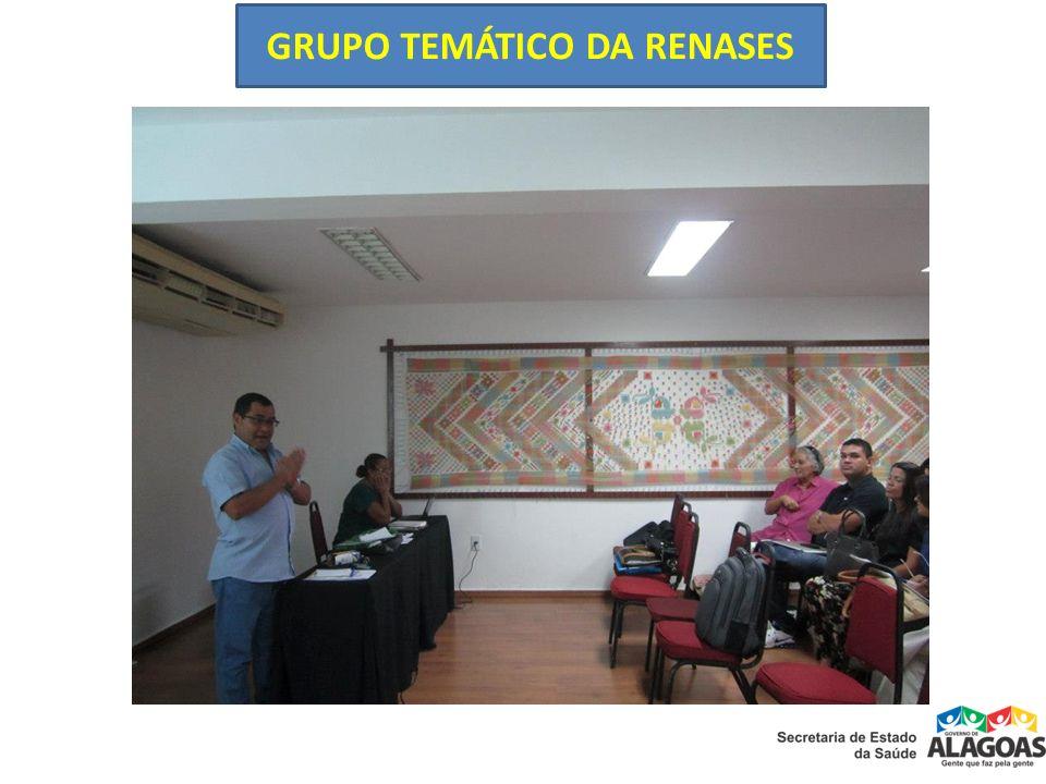 GRUPO TEMÁTICO DA RENASES