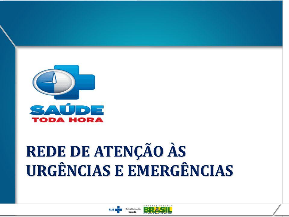 REDE DE ATENÇÃO ÀS URGÊNCIAS E EMERGÊNCIAS