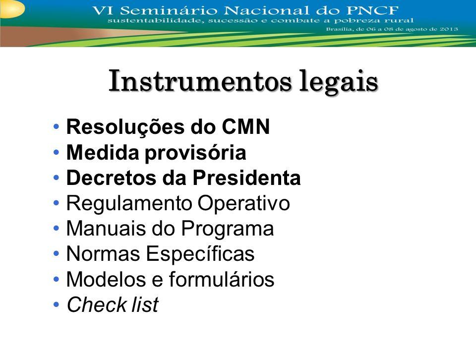Regulamento Operativo Manuais: Linhas CAF, NPT e CPR-SIB Linha CPR-SIC Normas Específicas Modelos e formulários Check list