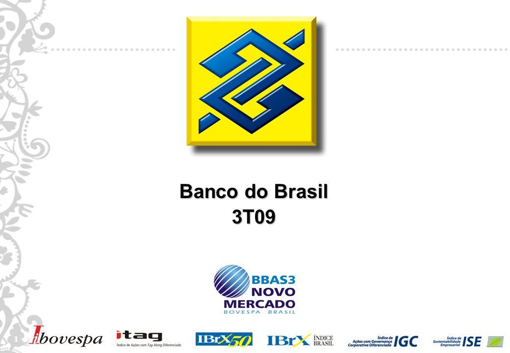 1 1 Banco do Brasil 3T09