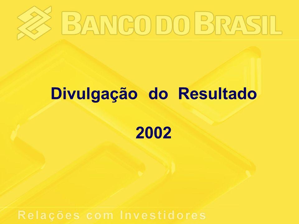Divulgação do Resultado 2002