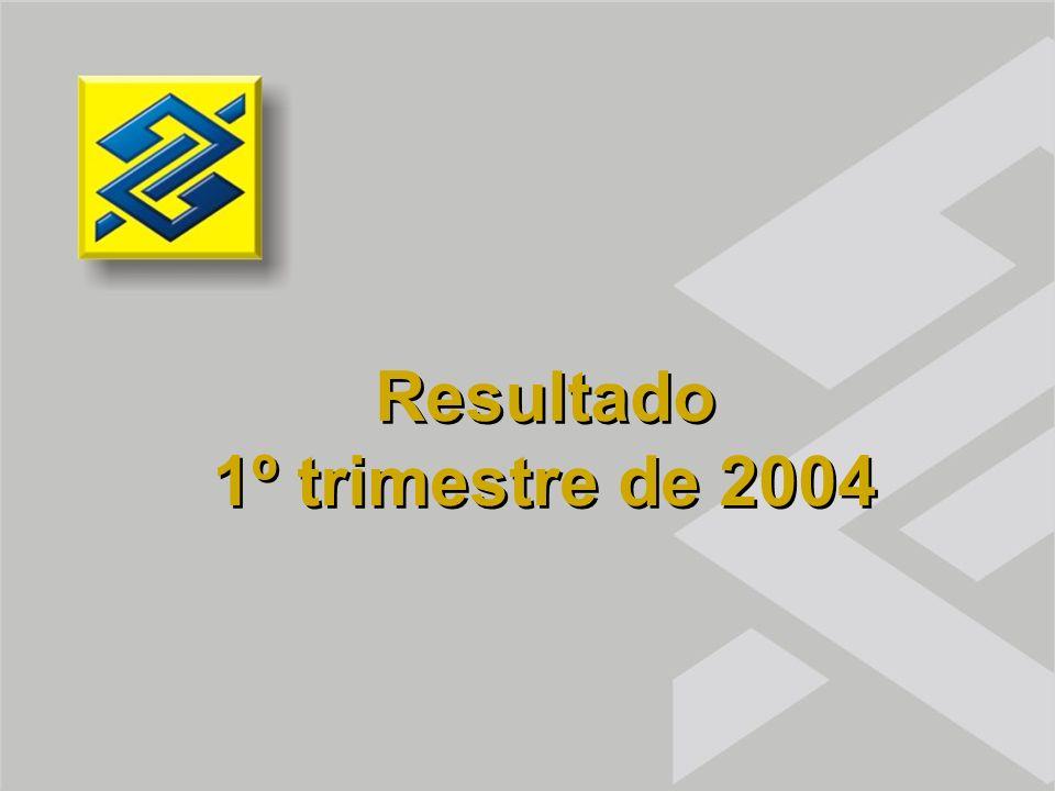 Resultado 1º trimestre de 2004 Resultado 1º trimestre de 2004