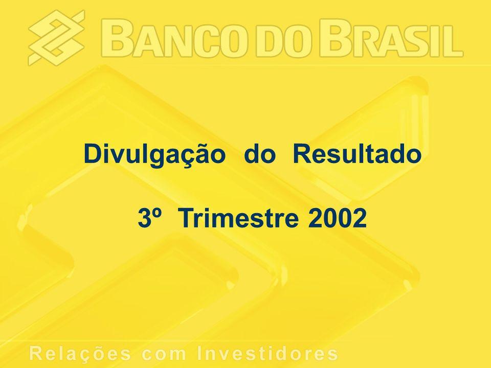 Divulgação do Resultado 3º Trimestre 2002