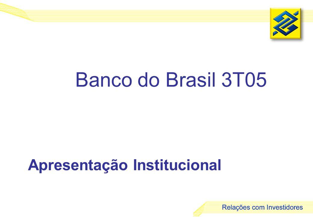 2 sistema financeiro nacional bancos no país* * Bancos Múltiplos e Comerciais (inclusive estrangeiros) Fonte: Banco Central do Brasil 192 182 167 164 163 20002001200220032004 160 Jun/05