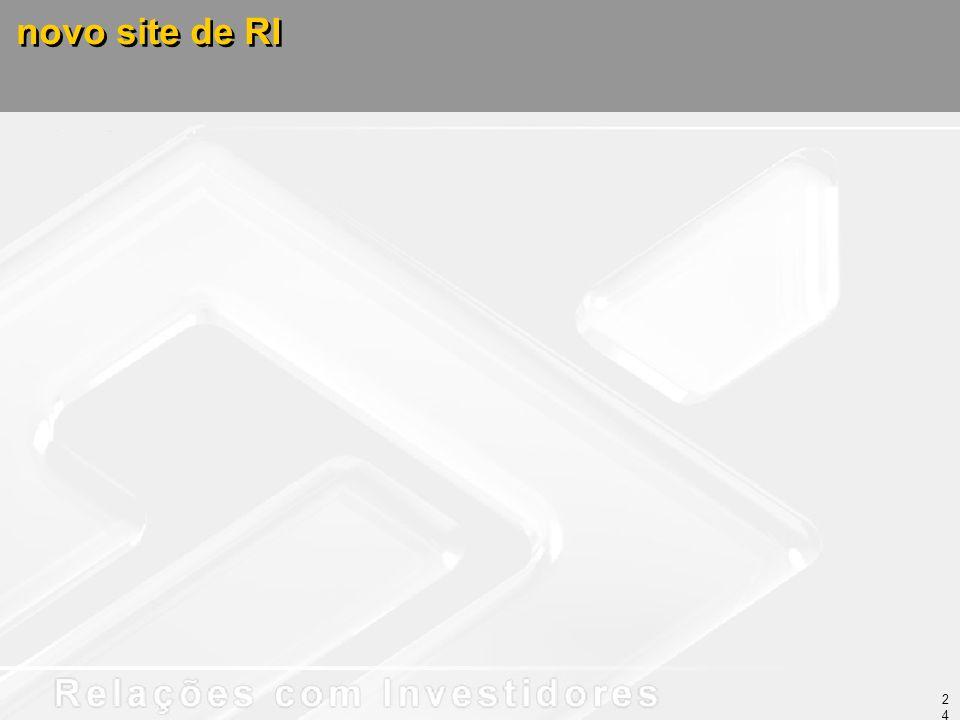 novo site de RI 24