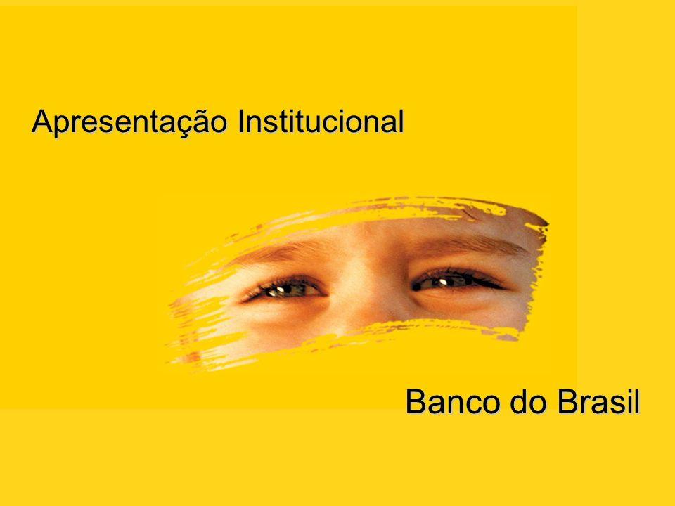 Apresentação Institucional Banco do Brasil