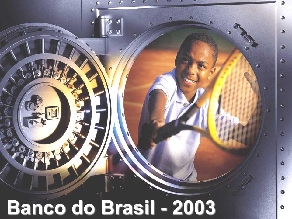 7.271 7.965 8.747 9.197 12.172 19992000200120022003 Patrimônio Líquido R$ milhões Banco do Brasil