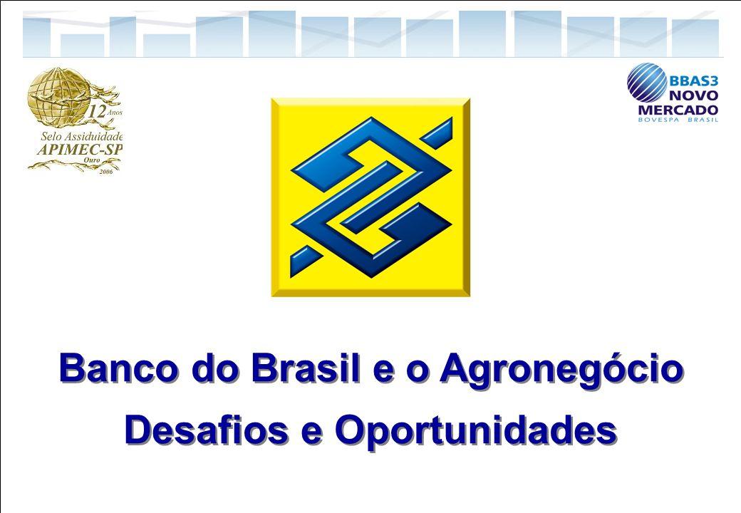 15 Relações com Investidores Banco do Brasil e o Agronegócio Desafios e Oportunidades Banco do Brasil e o Agronegócio Desafios e Oportunidades