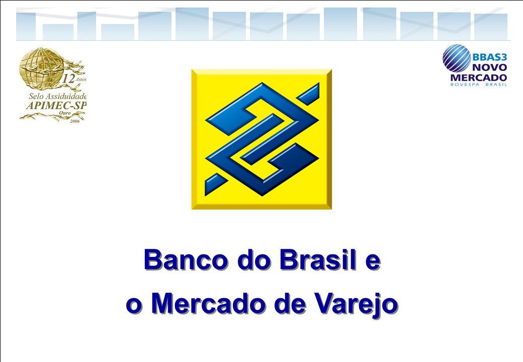 29 Relações com Investidores Banco do Brasil e o Mercado de Varejo Banco do Brasil e o Mercado de Varejo