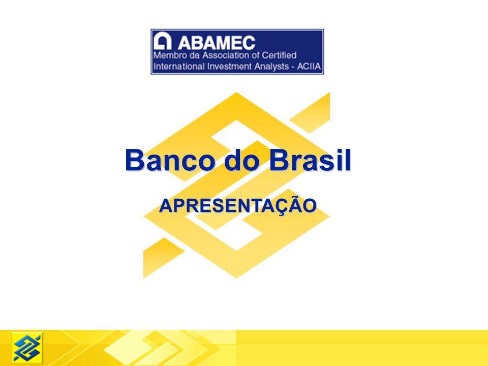 Banco do Brasil APRESENTAÇÃO