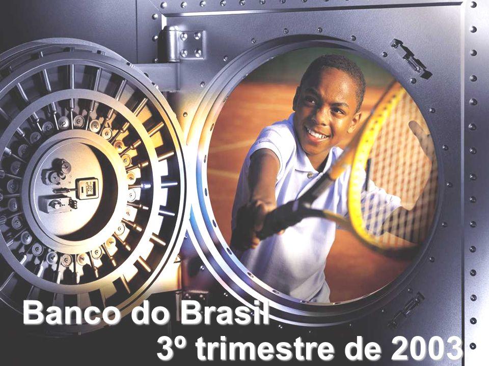 Fonte: Banco Central do Brasil 194 192 182 167 164 1999200020012002Jun/03 Bancos no País Sistema Financeiro Nacional