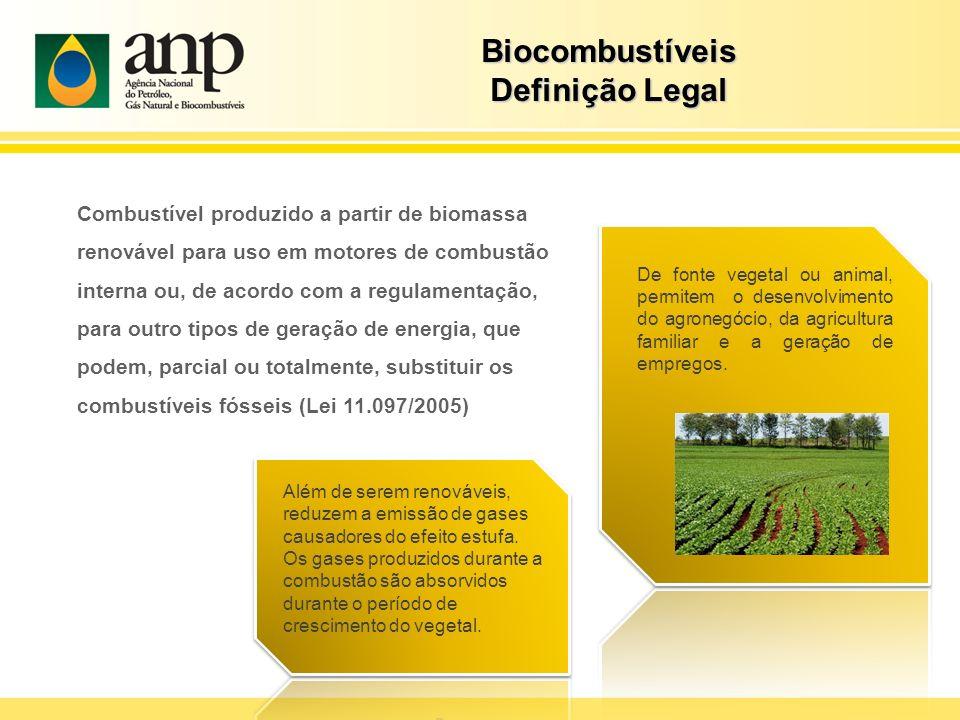 Combustível produzido a partir de biomassa renovável para uso em motores de combustão interna ou, de acordo com a regulamentação, para outro tipos de