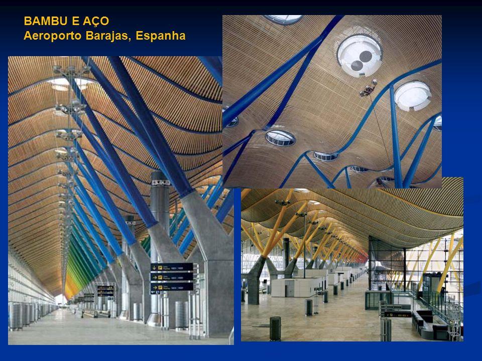 BAMBU E AÇO Aeroporto Barajas, Espanha