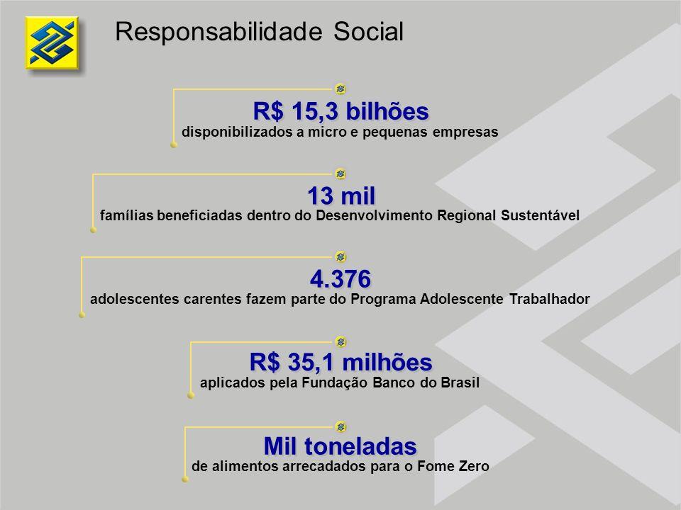 Responsabilidade Social famílias beneficiadas dentro do Desenvolvimento Regional Sustentável disponibilizados a micro e pequenas empresas adolescentes