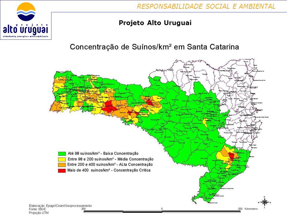 RESPONSABILIDADE SOCIAL E AMBIENTAL Projeto Alto Uruguai