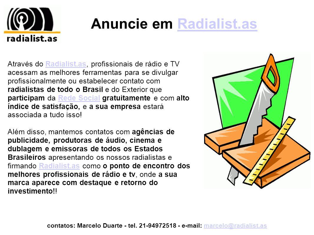 Espaços Comerciais em Radialist.asRadialist.as Link na Barra de Ferramentas Inferior.