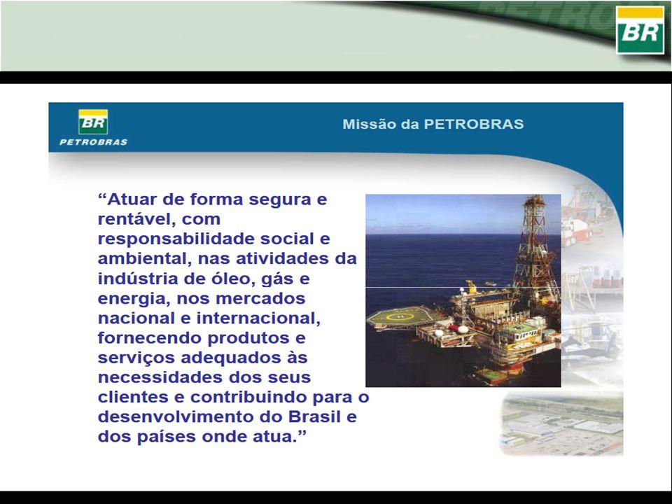 Atuar de forma segura e rentável, com responsabilidade social e ambiental, nas atividades da indústria de óleo, gás e Missão da PETROBRAS energia, nos