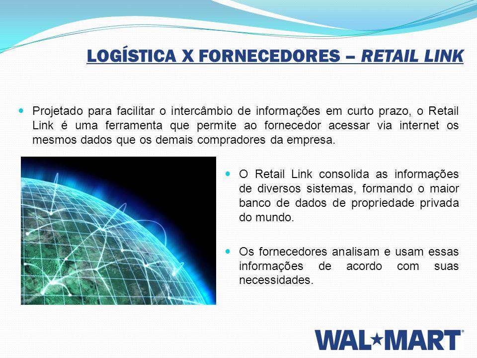 Projetado para facilitar o intercâmbio de informações em curto prazo, o Retail Link é uma ferramenta que permite ao fornecedor acessar via internet os