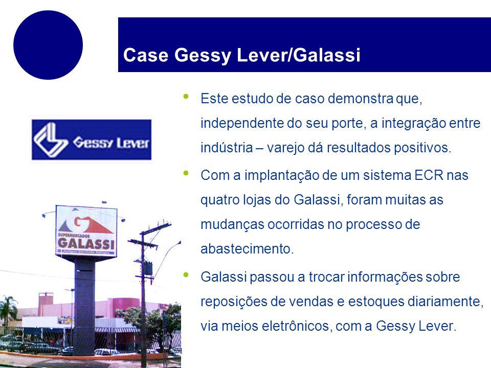 www.company.com Case Gessy Lever/Galassi Este estudo de caso demonstra que, independente do seu porte, a integração entre indústria – varejo dá result