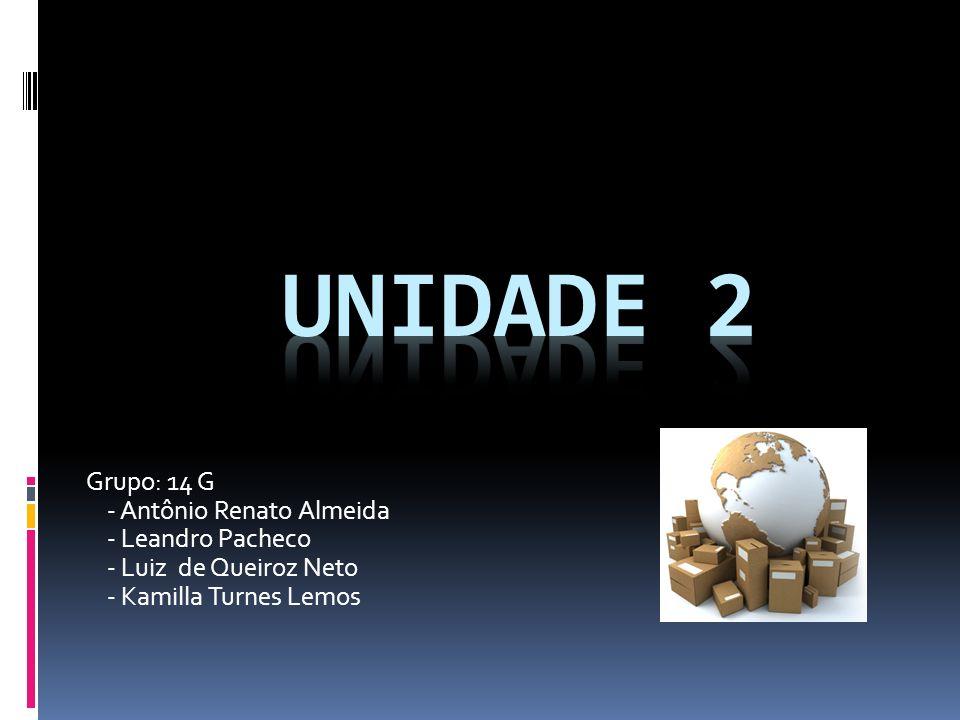 Grupo: 14 G - Antônio Renato Almeida - Leandro Pacheco - Luiz de Queiroz Neto - Kamilla Turnes Lemos