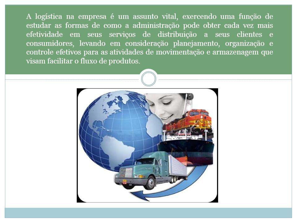 A logística na empresa é um assunto vital, exercendo uma função de estudar as formas de como a administração pode obter cada vez mais efetividade em s