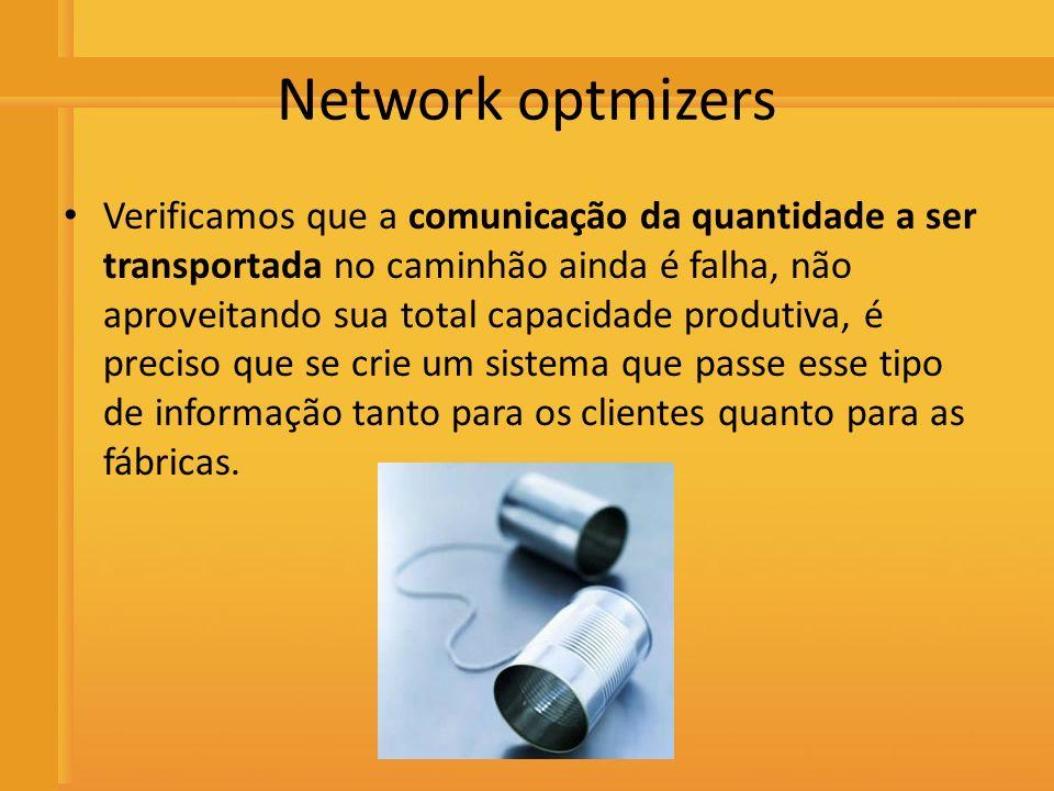 Distribuidora de Bebidas Rio Preto Network optmizers Verificamos que a comunicação da quantidade a ser transportada no caminhão ainda é falha, não apr