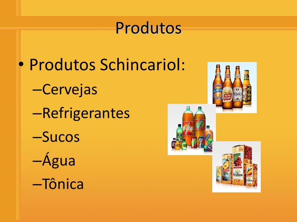 Distribuidora de Bebidas Rio Preto Produtos Produtos Schincariol: – Cervejas – Refrigerantes – Sucos – Água – Tônica