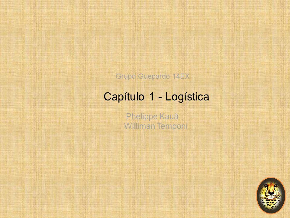 Grupo Guepardo 14EX Capítulo 1 - Logística Phelippe Kauã Williman Temponi