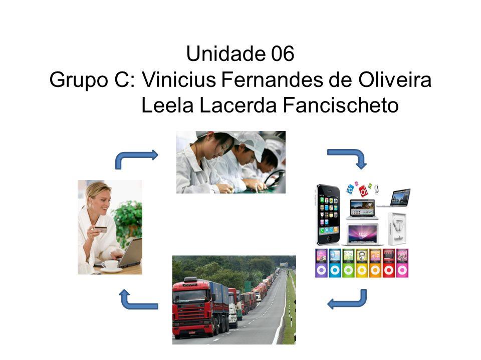Unidade 06 Grupo C: Vinicius Fernandes de Oliveira Leela Lacerda Fancischeto