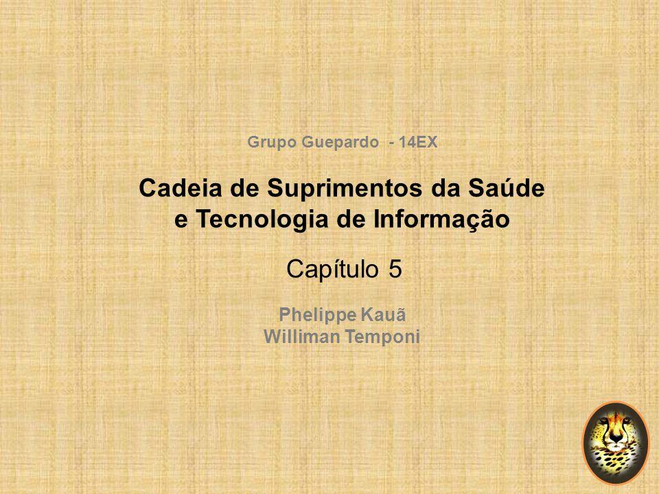 Grupo Guepardo - 14EX Cadeia de Suprimentos da Saúde e Tecnologia de Informação Capítulo 5 Phelippe Kauã Williman Temponi