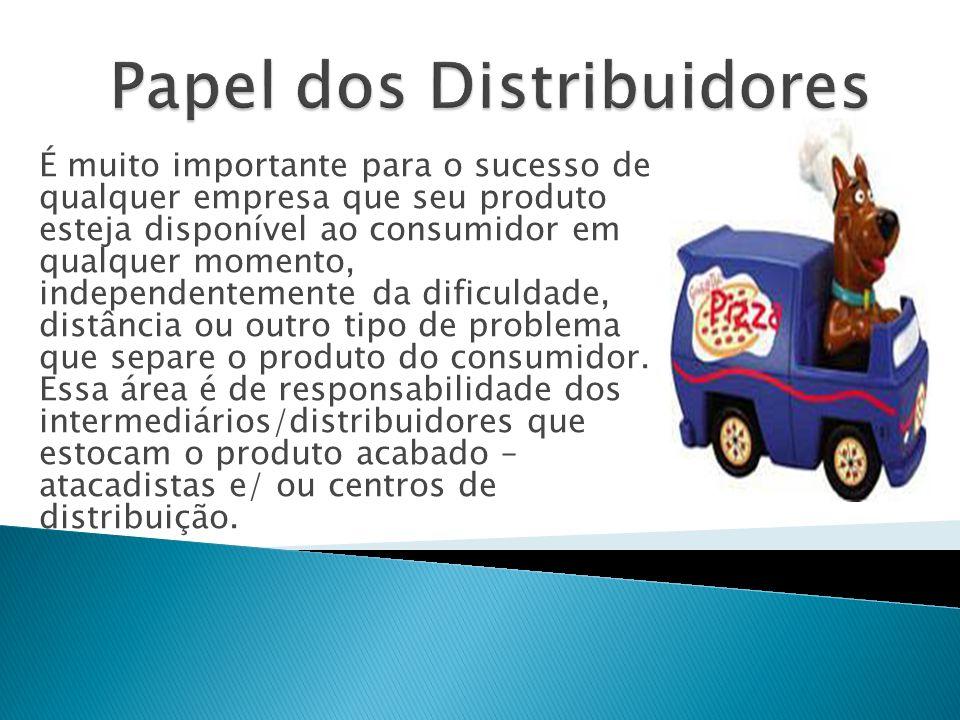 É muito importante para o sucesso de qualquer empresa que seu produto esteja disponível ao consumidor em qualquer momento, independentemente da dificuldade, distância ou outro tipo de problema que separe o produto do consumidor.