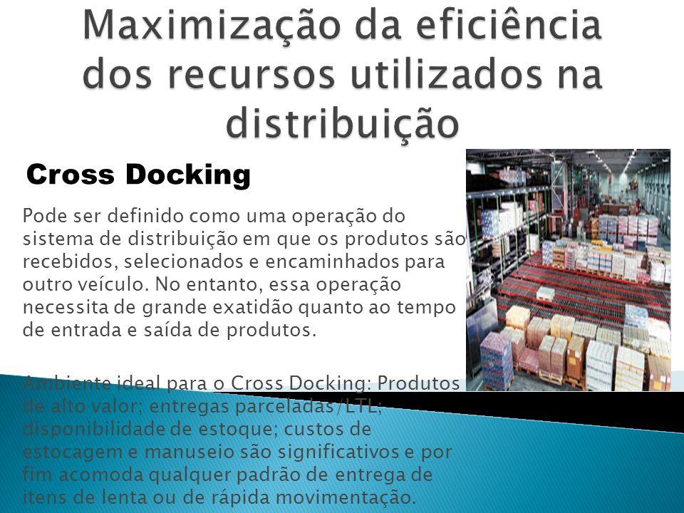 Pode ser definido como uma operação do sistema de distribuição em que os produtos são recebidos, selecionados e encaminhados para outro veículo.