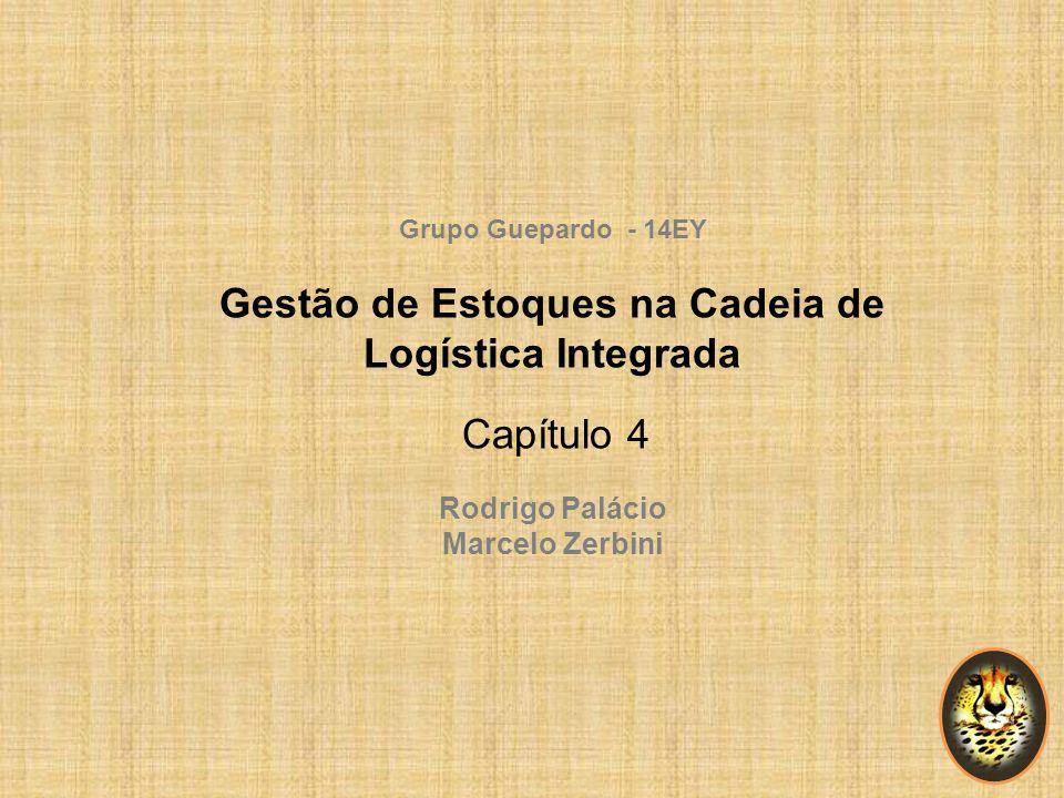 Grupo Guepardo - 14EY Gestão de Estoques na Cadeia de Logística Integrada Capítulo 4 Rodrigo Palácio Marcelo Zerbini