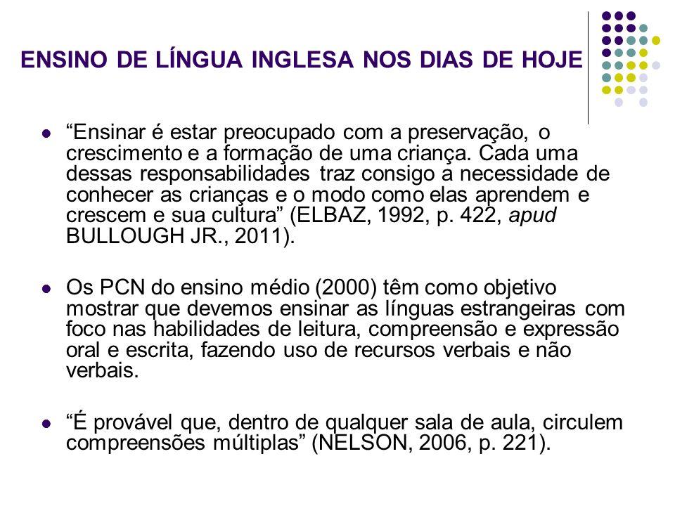 METODOLOGIA DE PESQUISA Estudo qualitativo (GUBA & LINCOLN, 1994, pp.