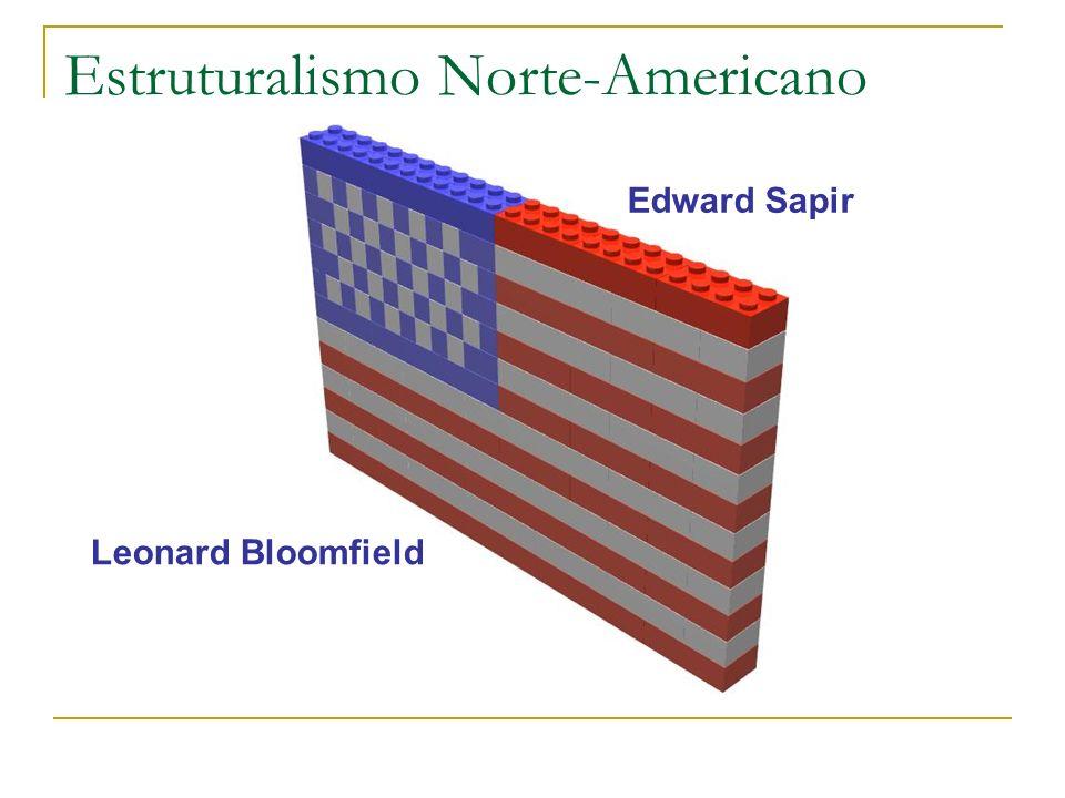 Estruturalismo Norte-Americano Leonard Bloomfield Edward Sapir