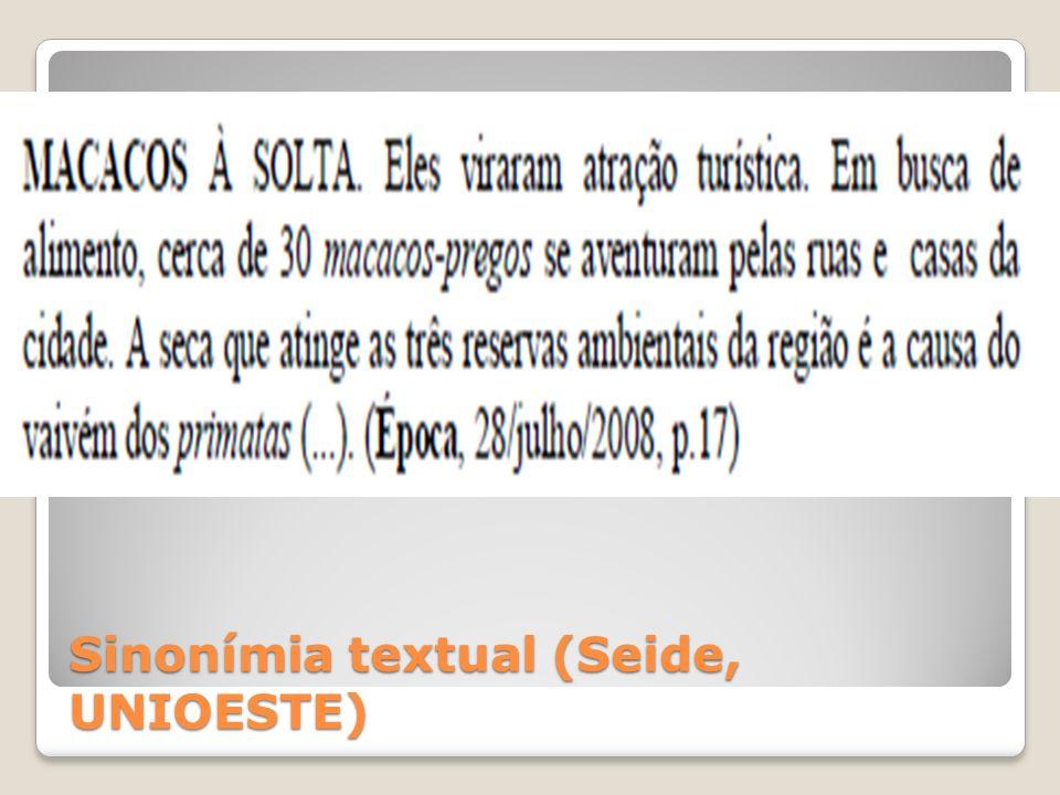Hiperonímia e hiponímia Lexema/SemaVivoCapaz de locomoção Animal++ Vegetal+- Mineral--
