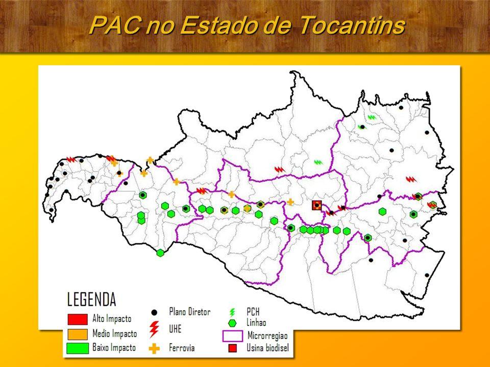 PAC no Estado de Tocantins