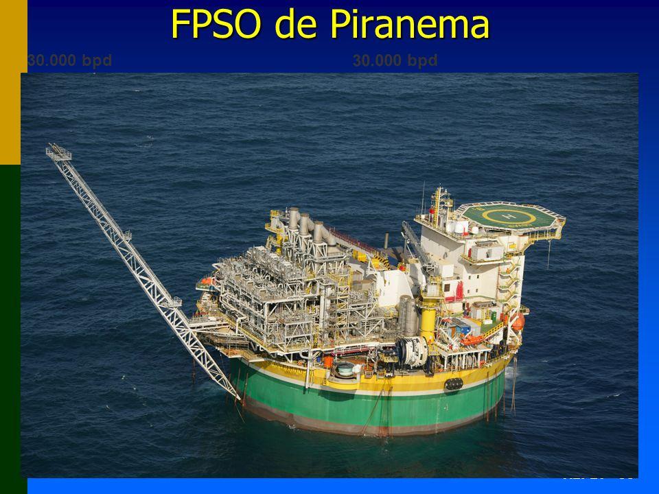 AEPET - 66 FPSO de Piranema 30.000 bpd