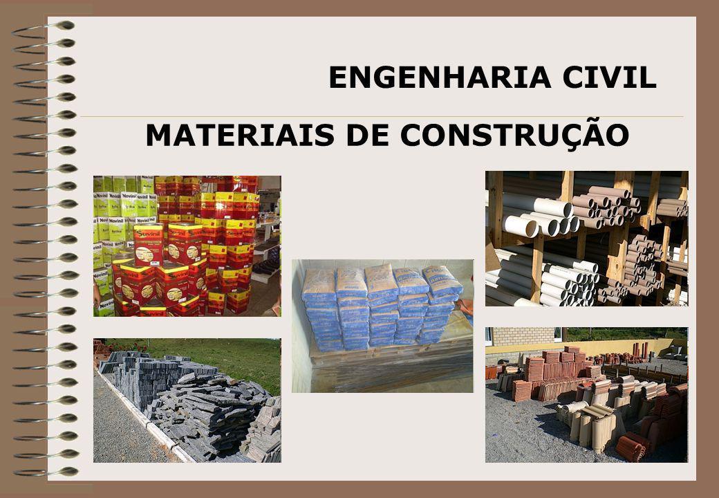 ENGENHARIA CIVIL MATERIAIS DE CONSTRUÇÃO