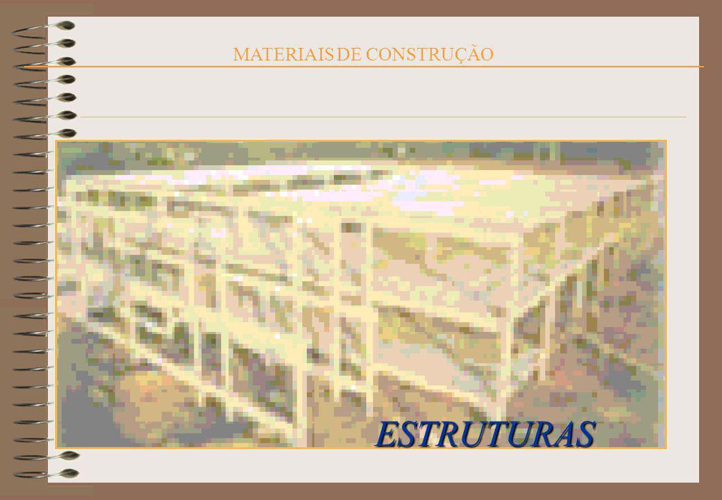 MATERIAIS DE CONSTRUÇÃO ESTRUTURAS