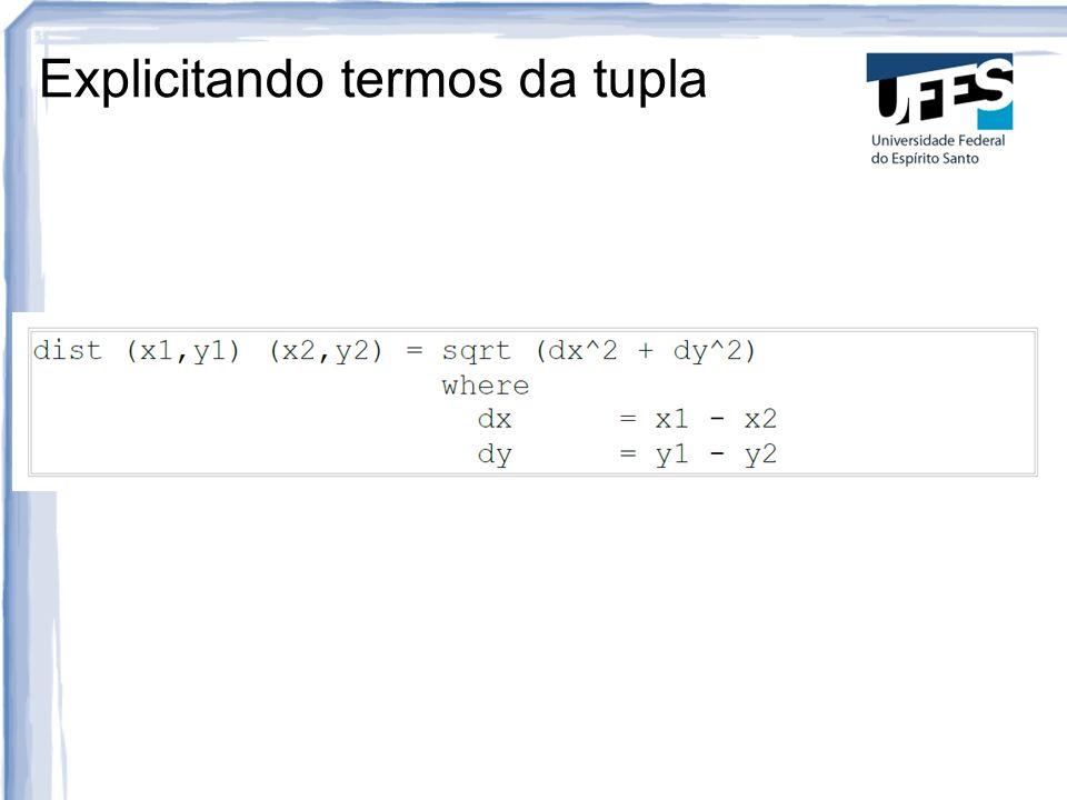 Exercícios 1)Escreva uma função que determina as distâncias entre três pontos no plano cartesiano, duas a duas.
